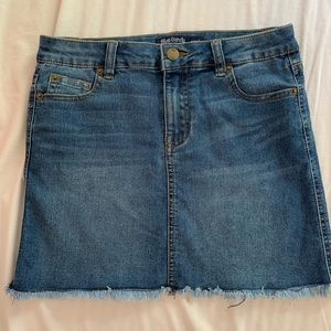 Other - Girls jean skirt size L